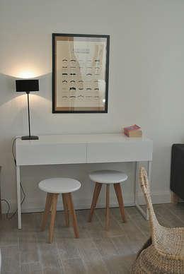 Appartements Fonctionnels: Bureau de style de style Minimaliste par Clémence Haure