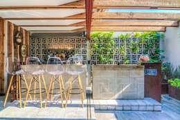 ZOTEHUELA: Jardines de estilo industrial por HDA: ARQUITECTURA BIOCLIMATICA