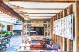 ZOTEHUELA: Terrazas de estilo  por HDA: ARQUITECTURA BIOCLIMATICA