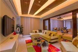Salas / recibidores de estilo moderno por eSpaces Architects