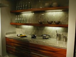 modern Kitchen by Wohnharmonie