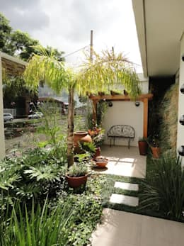 Сады в . Автор – Domm Arquitetura Ltda