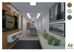 Projeto: Salas de estar modernas por thais.fscarvalho
