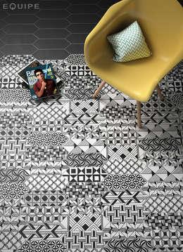 غرفة المعيشة تنفيذ Equipe Ceramicas