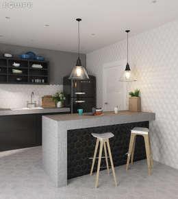 غرفة السفرة تنفيذ Equipe Ceramicas