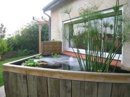 exemples de realisations: Jardin de style de style Moderne par KAEL Createur de jardins