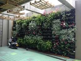 : Jardines de estilo moderno por Vertin SAS