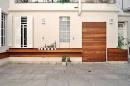 Jardin:  de estilo  por Matealbino arquitectura