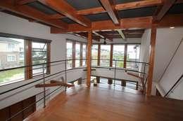 セカンドリビング: 大出設計工房 OHDE ARCHITECT STUDIOが手掛けた和室です。