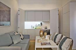 Cocinas de estilo industrial por Pureza Magalhães, Arquitectura e Design de Interiores