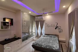 modern Bedroom by KREATIVE HOUSE