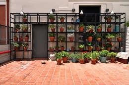 Patio: Terrazas de estilo  por Matealbino arquitectura