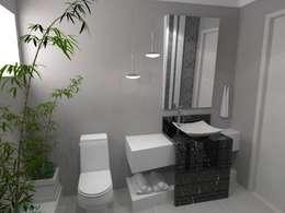 modern Bathroom by Arquitetando Arquitetas Associadas