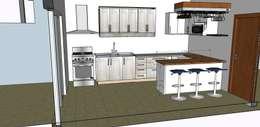 Кухни в . Автор – GM Arquitectura&Construcción