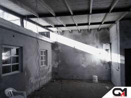 Гостиная в . Автор – GM Arquitectura&Construcción