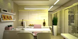 Oficinas de estilo minimalista por Duecad - Arquitetura e Interiores