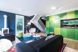 A ROOM WITH A VIEW: Salon de style de style Moderne par decodheure