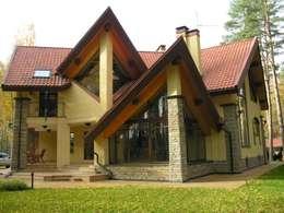 дом в лесу: Дома в . Автор – STUDIOKORA