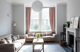 modern Living room by Grand Design London Ltd