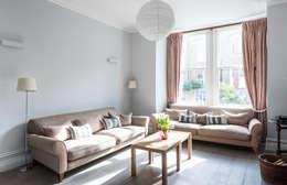 Projekty,  Salon zaprojektowane przez Grand Design London Ltd