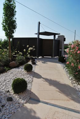 Jardines de estilo moderno por Lugo - Architettura del Paesaggio e Progettazione Giardini