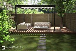 Jardin de style de style Moderne par CONILLAS - exteriors