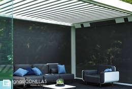 Jardines de invierno de estilo moderno por CONILLAS - exteriors