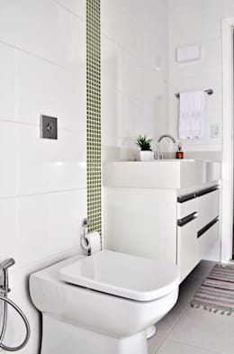 modern Bathroom by canatelli arquitetura e design