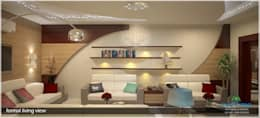 Living room: modern Living room by Premdas Krishna