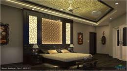 Modish Modern Contemporary...: modern Bedroom by Premdas Krishna