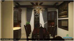 Dining room: asian Dining room by Premdas Krishna