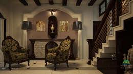Victorian Style in Interiors: asian Living room by Premdas Krishna