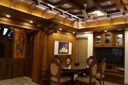 Stunning Contemporary Interior Design Works: modern Dining room by Premdas Krishna