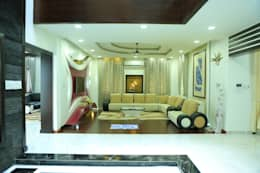 Ultra Modern Interior Design: modern Living room by Premdas Krishna