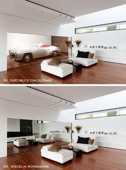 moderne Woonkamer door LEE+MIR