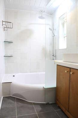 꿈꾸는목수: modern tarz Banyo