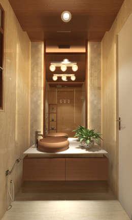 Salle de bains de style  par INCEPT DESIGN SERVICES