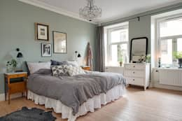 scandinavian Bedroom تنفيذ Lumelaria