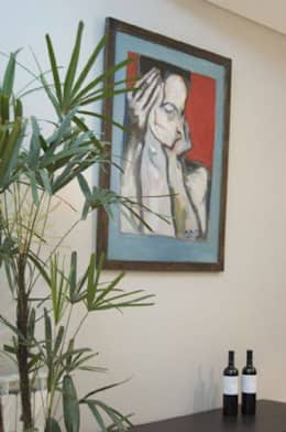 EDIFICIO MODIGLIANI: Livings de estilo moderno por sm arquitectura