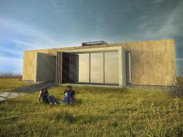 VIVIENDA DUAL: Casas de estilo minimalista por Arquitecto Juan Nicolás Bobba