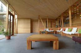 : Pasillos y hall de entrada de estilo  por PhilippeGameArquitectos