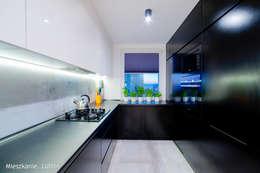 Cocinas de estilo minimalista por Auraprojekt