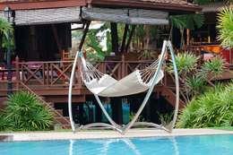 minimalistic Pool by Trinity hammocks