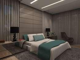 Dormitorios de estilo moderno por Concepto Design