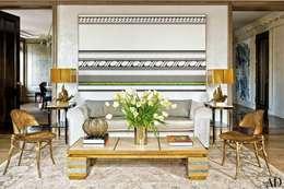 Livings de estilo clásico por Casa de Valentina