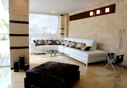 modern Living room by Arq Renny Molina