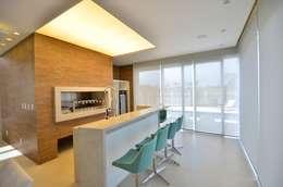 modern Kitchen by Biazus Arquitetura e Design