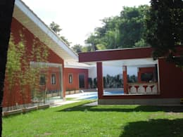 Jardines de estilo  por GEA Arquitetura
