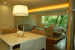 scandinavian Living room by GEA Arquitetura