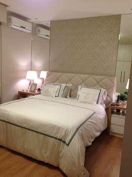 scandinavian Bedroom by GEA Arquitetura